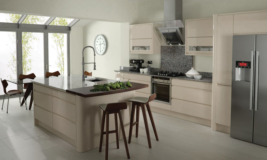 Gold Collection Doors - Remo Gloss Beige