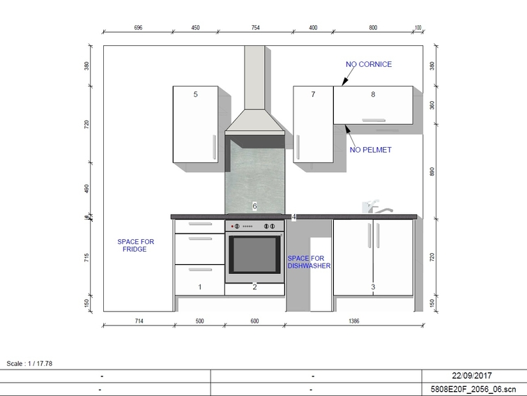 Bronze Collection One Bed Elevation
