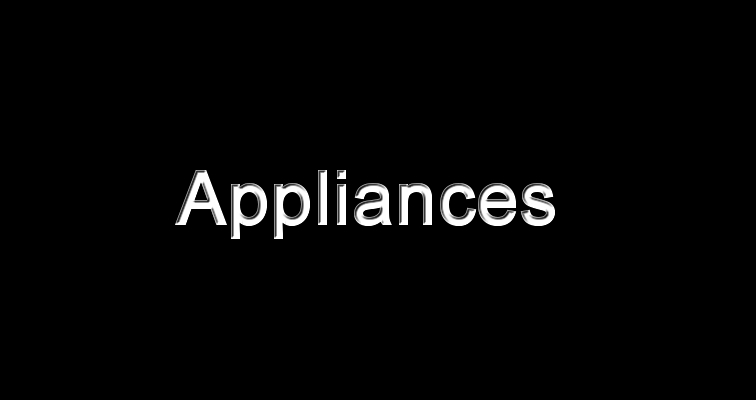 Bronze Collection Appliances